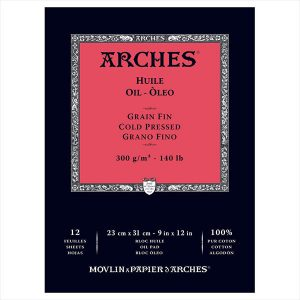 Arches Oil Pad Color Pressed 140lbs