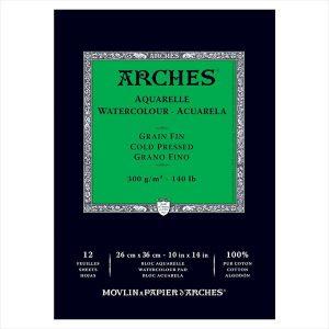 Arches Watercolor pad 12 sheets
