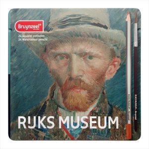 Bruynzeel Rijks Museum watercolor pencil set of 24