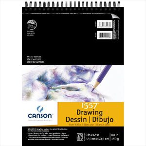 Canson Artist Series 1557 Drawing Pad 20 sheet