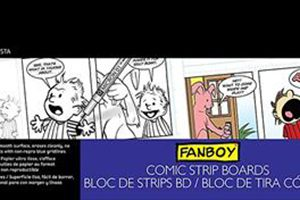 Canson Fanboy Comic strip board pad