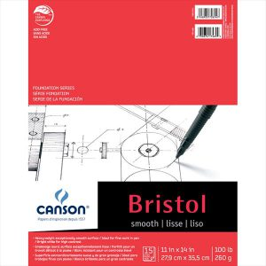 Canson Foundation Series Bristol Pad