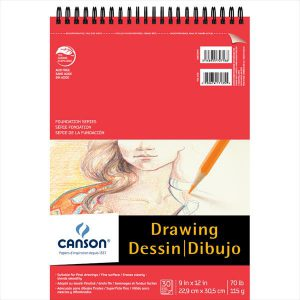 Canson Foundation Series Drawing Pad 30