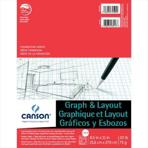 Canson Graph and Layout Pad 4/4