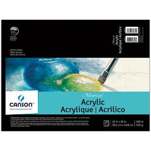 Canson Montval Acrylic pads 10 sheets