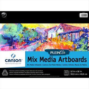 Canson Montval Mix Media Artboards 10 boards