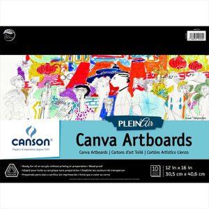 Canson Pleinair Canva artboards 10 boards
