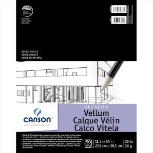 Canson Vidalon Vellum Pad 50 Sheets