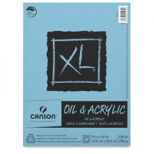 Canson XL Oil and Acrylic Pad