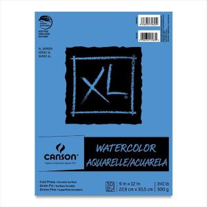 Canson XL Watercolor Pads 140lbs