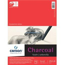 Canson charcoal pad 24 sheet