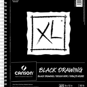 Canson Black drawing pad