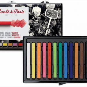 Conte A Paris Assorted Color Pastel 12 pack