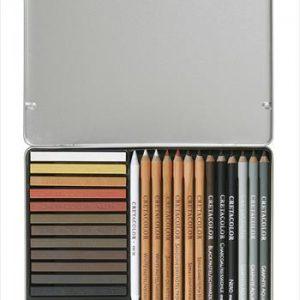 Cretacolor Creativo drawing set 27 pack