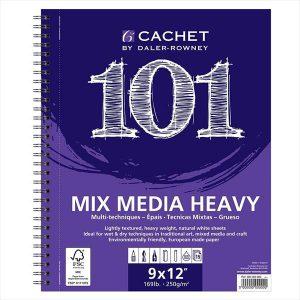 Daler Rowney Cachet 101 mix media heavy 9x12