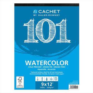 Daler Rowney Cachet 101 Watercolor pad 12 sheets