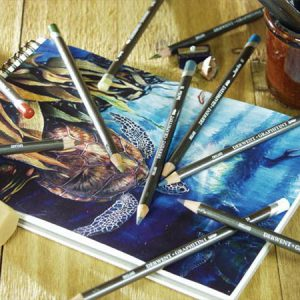 Derwent Graphitint colored pencils
