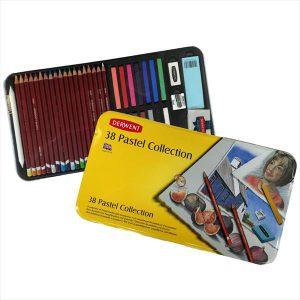 Derwent pastel collection set of 38