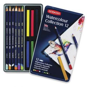 Derwent watercolor collection set of 12