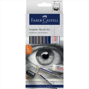 Faber-Castell Graphite Sketch set of 8