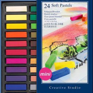 Faber Castell mini soft pastel set of 24