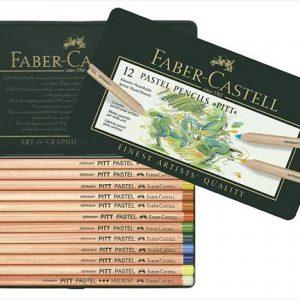 Faber castell pITT pastel pencil 12 pack