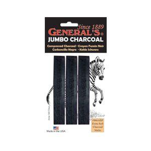 General Jumbo Compressed Charcoal