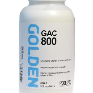 Golden GAC 800 Low Crazing Extender for pouring acrylic colors