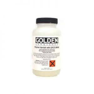 Golden Polymer Varnish