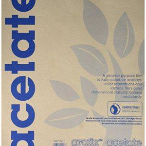 Grafix Acetate Pad 25 sheets