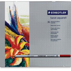 Karat Aquarell Watercolor pencil set of 36