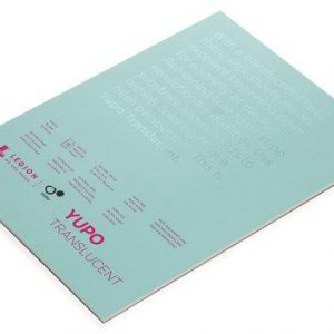 Legion yupo translucent white pad 15 sheets 104lbs