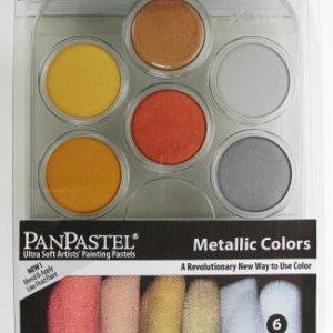 Pan Pastels Metallic Color set of 6