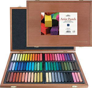 Pro Art Artist Pastel Wood Box Set 72