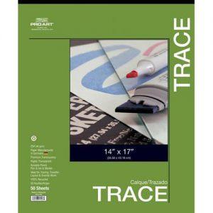 Pro Art Trace Pad 50 sheets