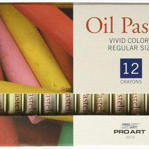 ProArt oil pastels set of 12