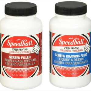 Speedball drawing fluid and screen filler set