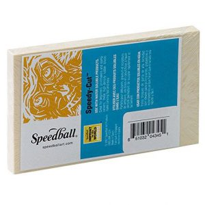 Speedball speedy cut printing block