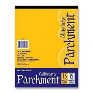 Steadtler Calligraphy Parchment Paper 30 Sheets