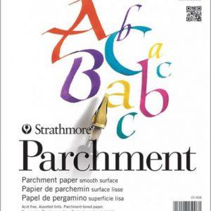 Strathmore 200 Series parchment pad 50 sheets 8.5x11