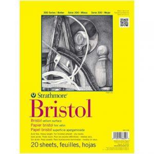 Strathmore 300 Series Bristol pad 20 sheets
