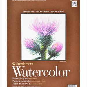 Strathmore 400 Watercolor pads 12 sheets