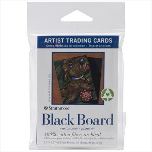 Strathmore ATC Black board cards 10 pack