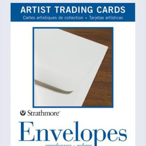Strathmore atc envelopes 5 pack trading cards