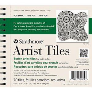 Strathmore artist tiles 400 sketch 70 Tiles