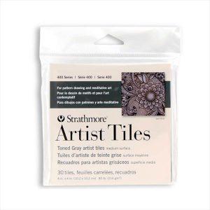 Strathmore Artist Tiles 400 Toned Gray