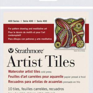 Strathmore Artist Tiles 400 Watercolor 10 Tiles
