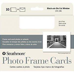 Strathmore Photo Frame Cards White