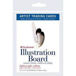 Strathmore trading cards 500 illustration boards 5 pack