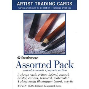 Strathmore Trading Cards assorted pack